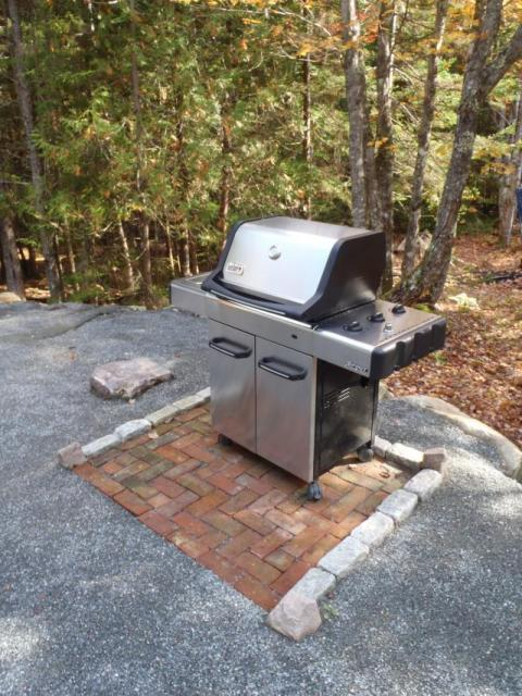 Airstream Stainless Weber BBQ